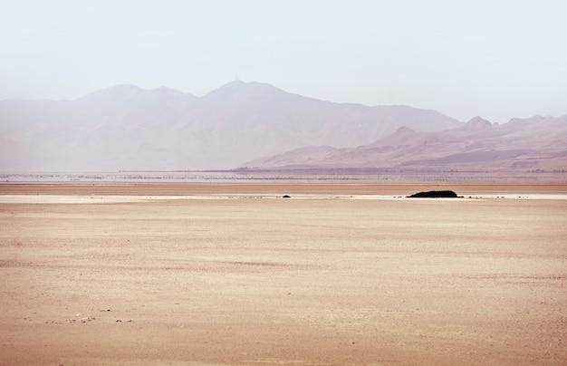 Grande lago salt