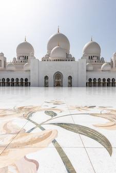 Grande moschea di sheikh zayed ad abu dhabi