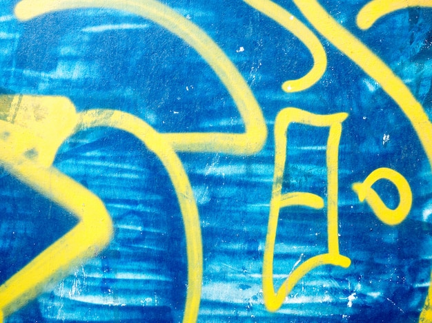 Grandi dettagli di graffiti per composizioni creative