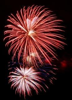 Grandi fuochi d'artificio