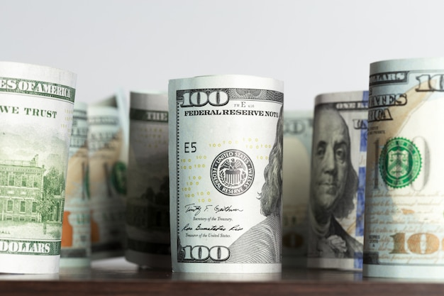 Grandi quantità di denaro