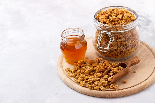 Granola di cocco fatta in casa