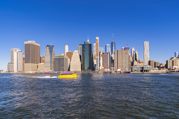 Grattacieli di lower manhattan