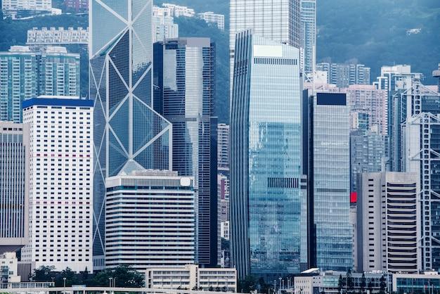 Grattacielo commerciale di hong kong
