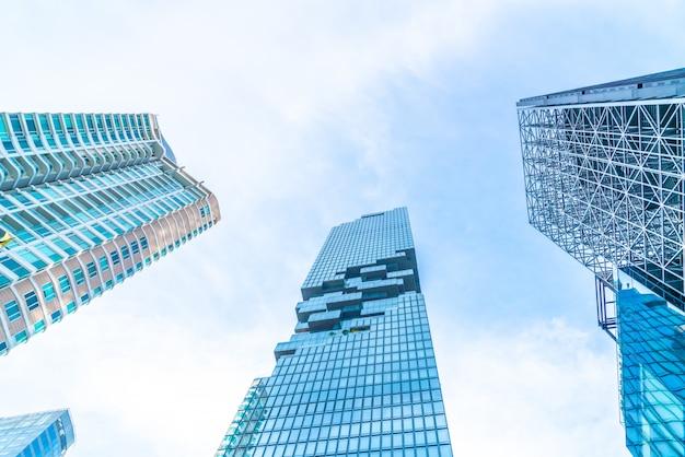 Grattacielo esterno dell'edificio per uffici di affari di architettura