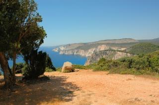 Grecia, zante paesaggio, rocciosa