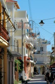 Greek street, passerella