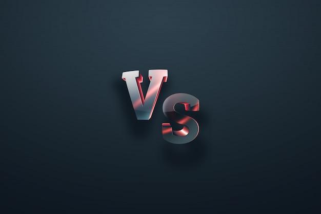 Grigio-rosso contro logo