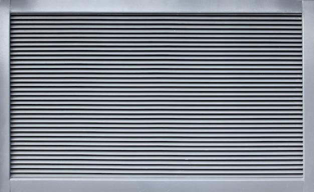 Griglia di ventilazione moderna in metallo