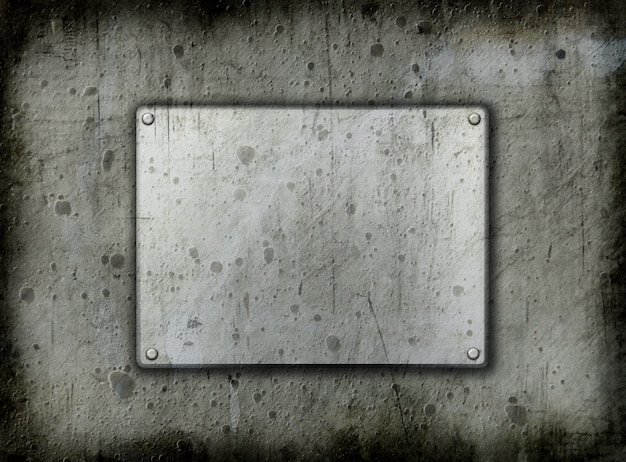 Grunge backgrounddd del metallo