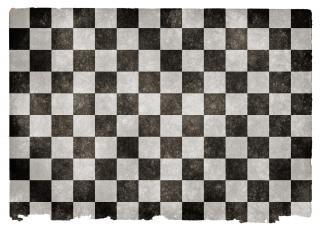 Grunge bandiera a scacchi dama