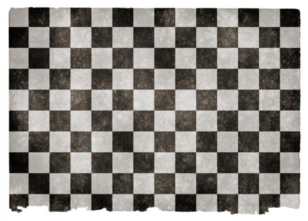 Grunge bandiera a scacchi