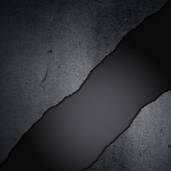 Grunge cemento su uno sfondo in fibra di carbonio