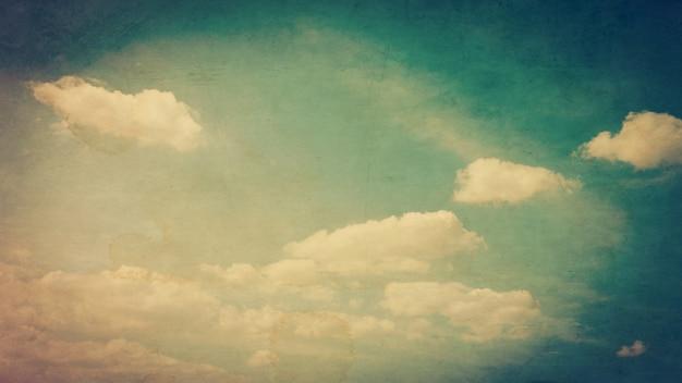 Grunge nubi e texture per lo stile dell'annata.