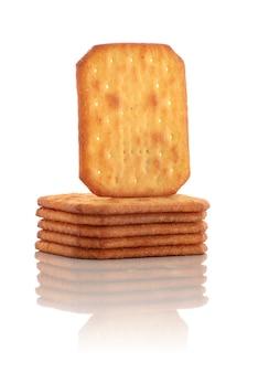 Gruppo di deliziosi biscotti