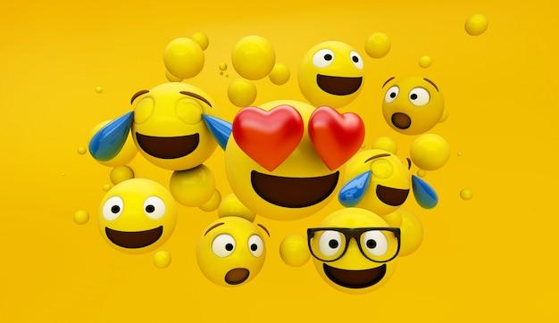 Gruppo di emoticon