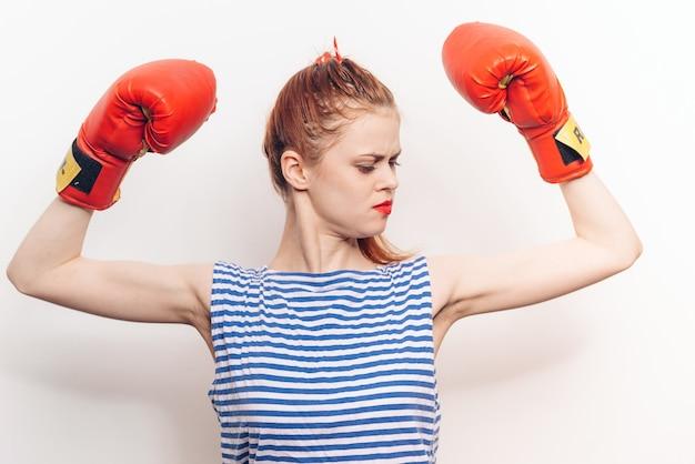 Guantoni da boxe boxer femminili