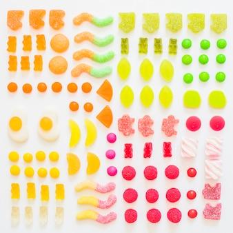 Gummi di frutta deliziosi