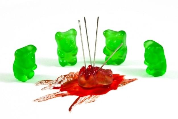 Gummy bear crimini ispirati dall'odio