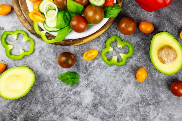 Gustosa insalata appetitosa