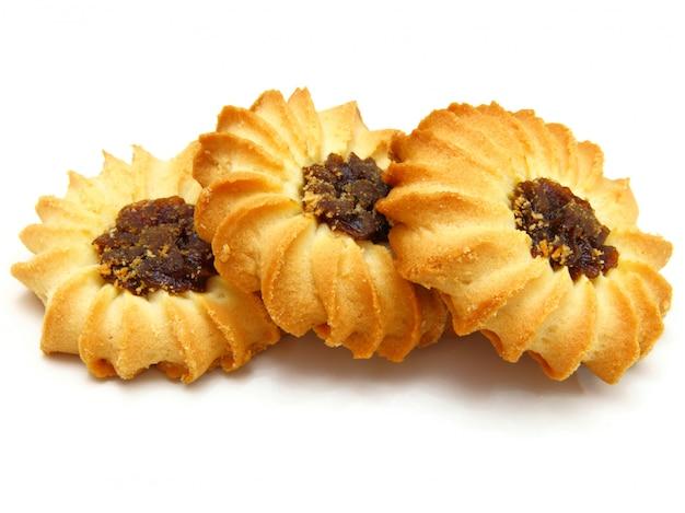 Gustosi biscotti con marmellata