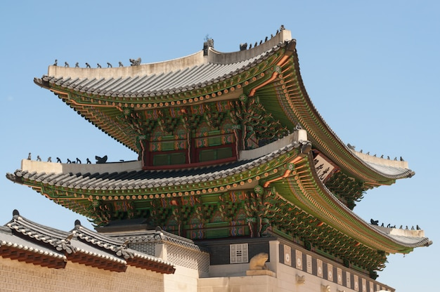 Gyeongbokgung palace gates