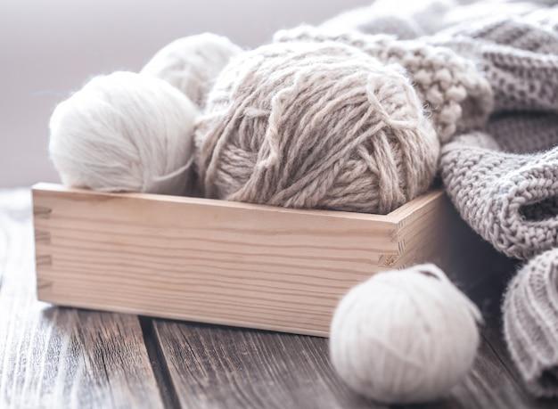 Hobby domestici, lavoro a maglia