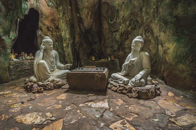 Huyen khong cave con santuari, montagne di marmo, vietnam