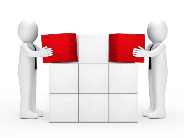I dipendenti in possesso di cubi rossi