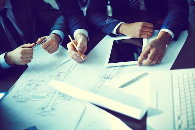 I dirigenti che danno idee per il progetto