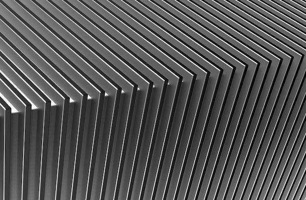 I precedenti astratti del modello del metallo. illustrazione 3d