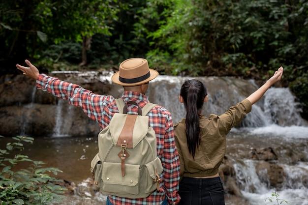 I turisti sono felici