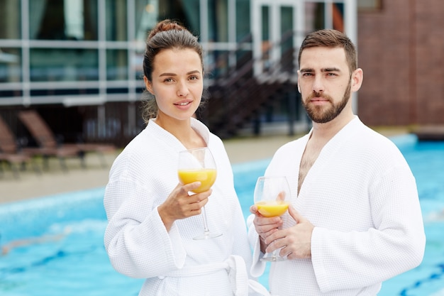 I viaggiatori al resort spa