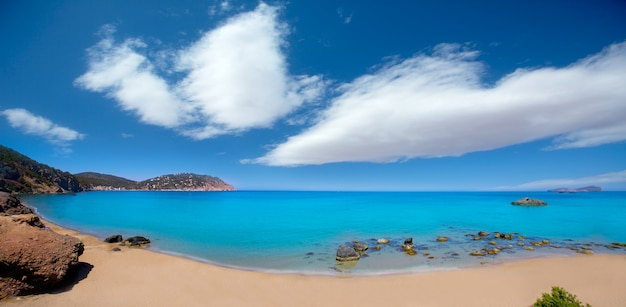 Ibiza aigues blanques aguas blancas beach a santa eulalia