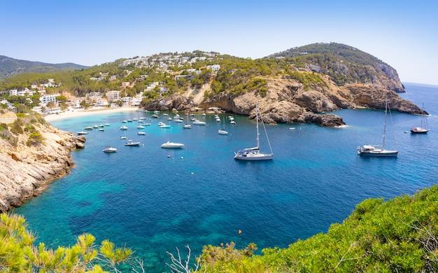 Ibiza cala vadella alse vedella beach
