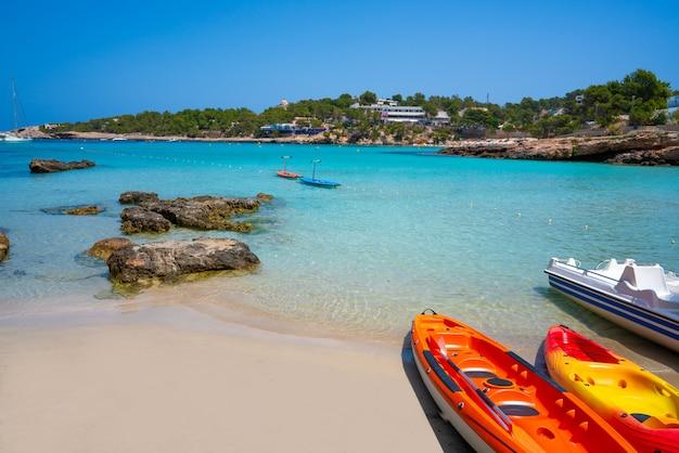 Ibiza portinatx arenal petit beach a baleari
