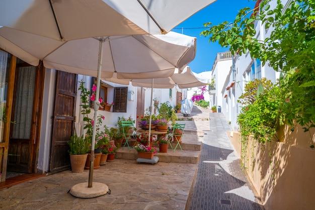 Ibiza sant joan de labritja nell'isola delle baleari