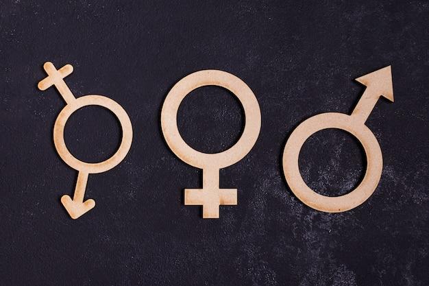 Icona di concetto di uguaglianza di genere