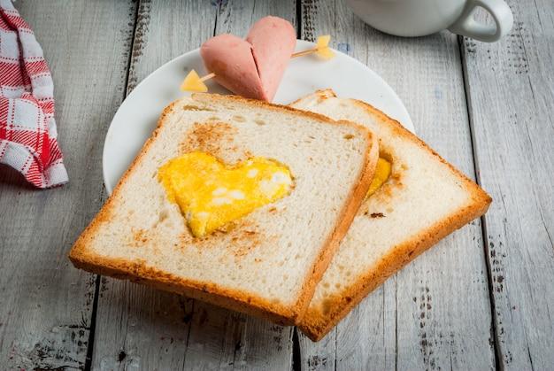 Idea per san valentino, colazione romantica