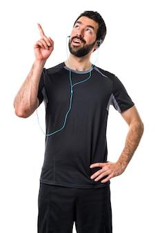 Idoneità fitness corridore sport di felicità