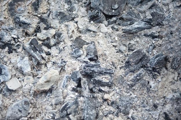 Il carbone di fondo del carbone non brucia
