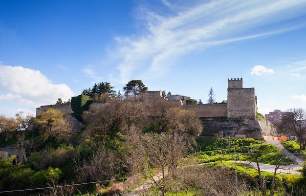 Il castello di lombardia, enna