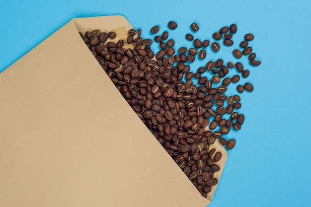 Il concetto di importazioni di caffè, esportazione di caffè