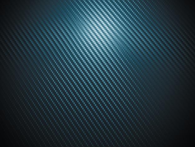 Il fondo 3d rende del modello della fibra del carbonio