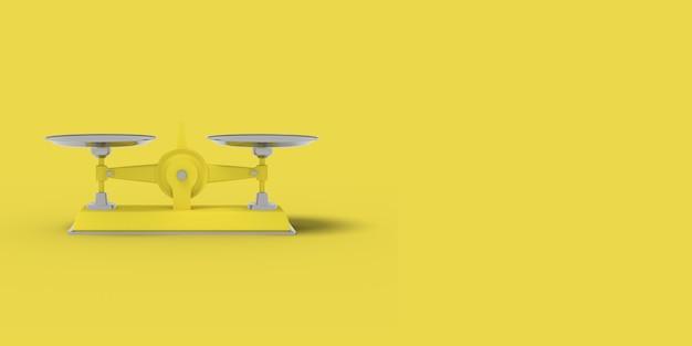 Il giallo riporta in scala il rendering 3d.