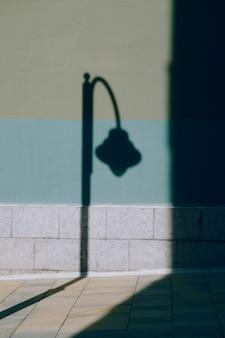 Il lampione in strada