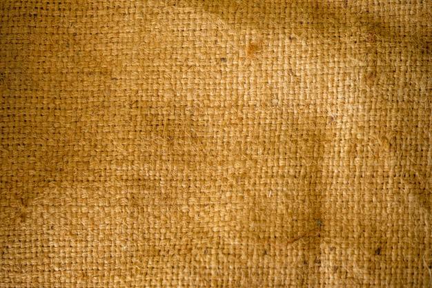 Il modello di trama del sacco è scuro ma è chiaro nei dettagli.