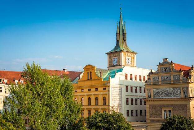 Il museo smetana e il paesaggio urbano di praga