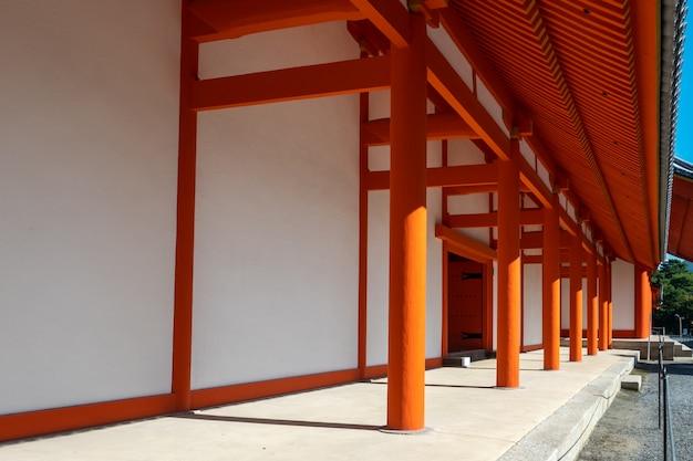 Il palazzo imperiale di kyoto in giappone