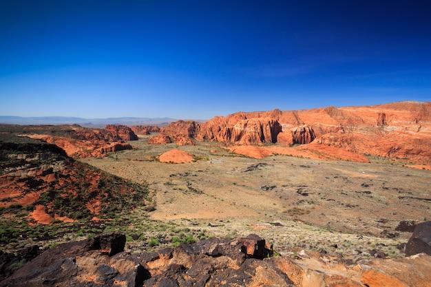 Il parco di stato del canyon della neve utah trascura